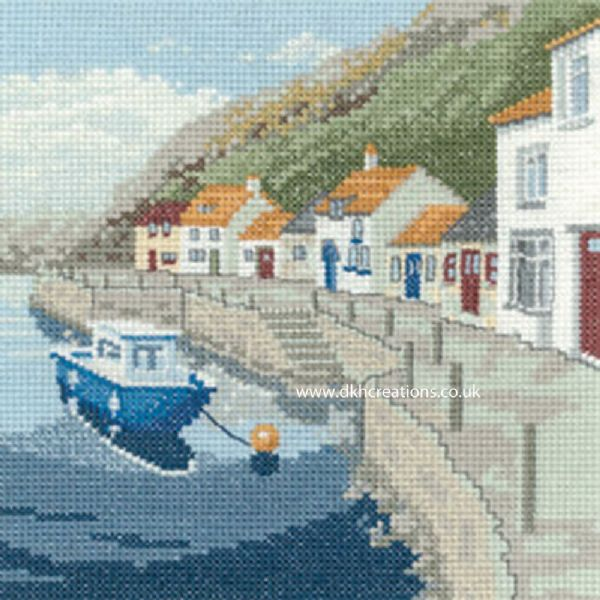 Sheltered Harbour Cross Stitch Kit